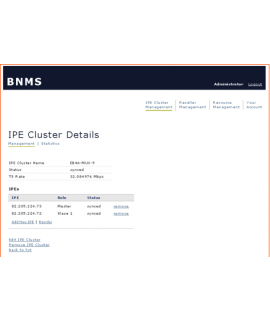 MD-5601-BNMS-IPE-Cluster setup