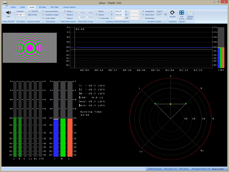 DTC-335 SD Eye UI